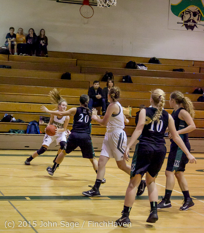 15702 Girls Varsity Basketball v Klahowya 120915