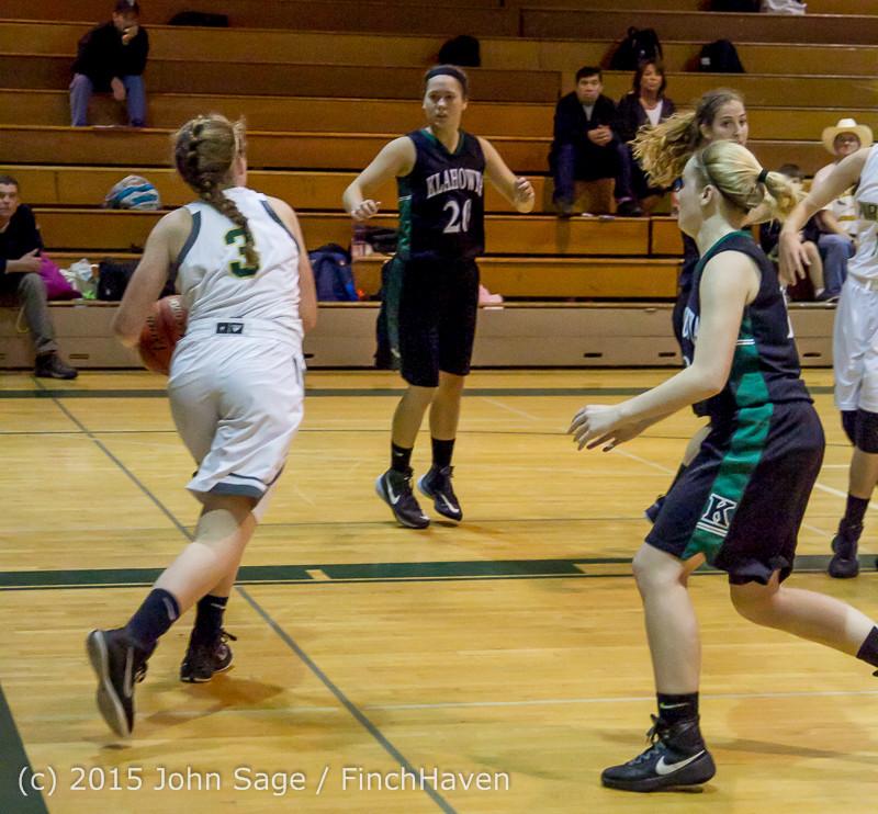15717 Girls Varsity Basketball v Klahowya 120915
