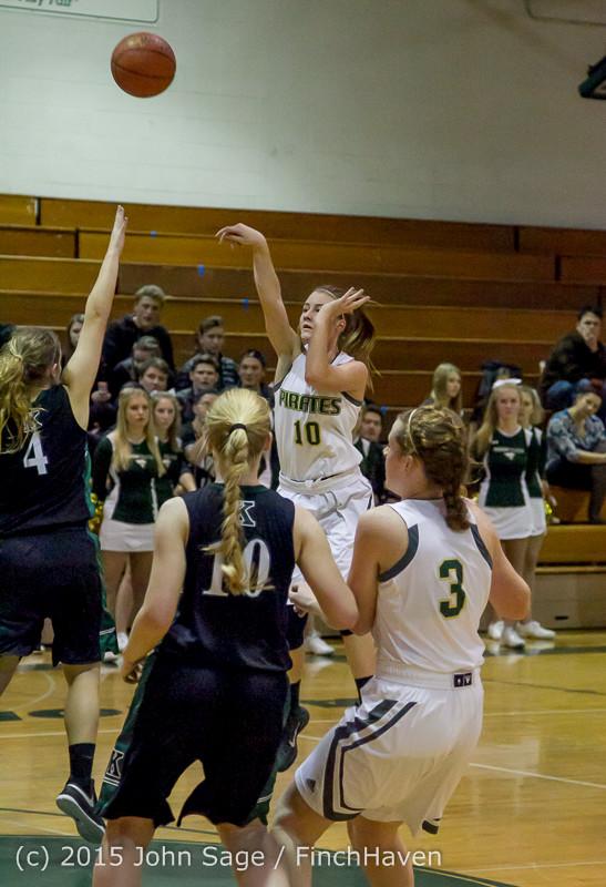 15734 Girls Varsity Basketball v Klahowya 120915
