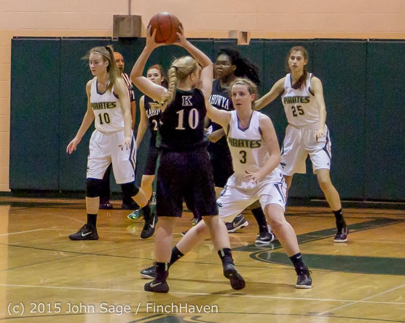 15783 Girls Varsity Basketball v Klahowya 120915