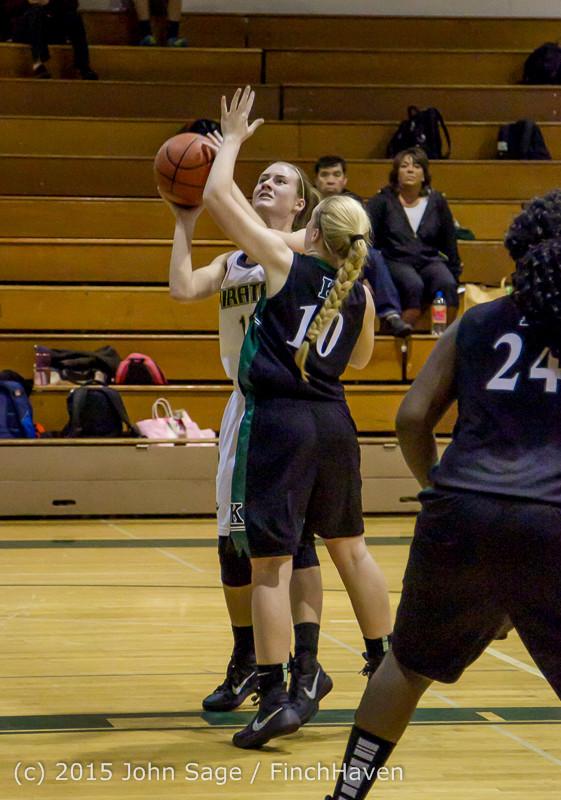 15794 Girls Varsity Basketball v Klahowya 120915