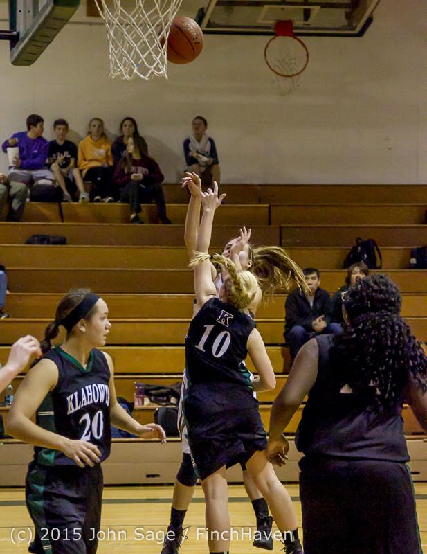 15796 Girls Varsity Basketball v Klahowya 120915