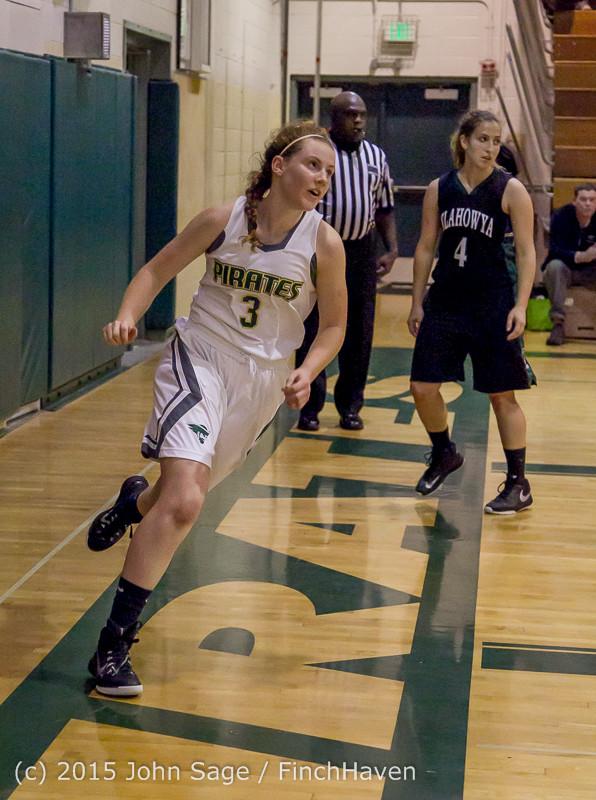 15816 Girls Varsity Basketball v Klahowya 120915
