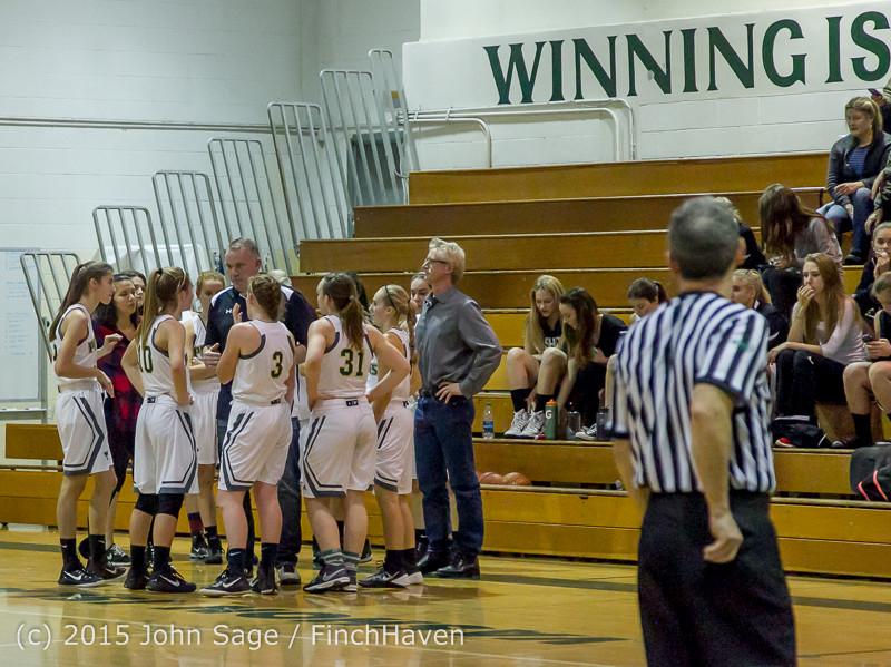 15819 Girls Varsity Basketball v Klahowya 120915