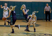 15863 Girls Varsity Basketball v Klahowya 120915