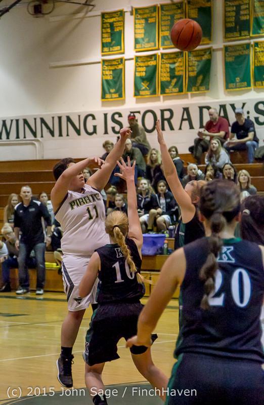 15882 Girls Varsity Basketball v Klahowya 120915