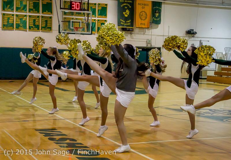 15918 Girls Varsity Basketball v Klahowya 120915