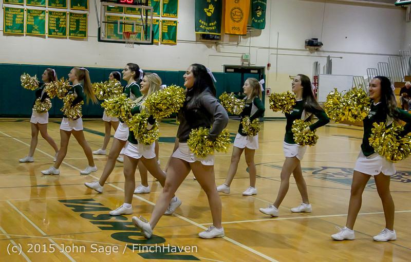 15925 Girls Varsity Basketball v Klahowya 120915