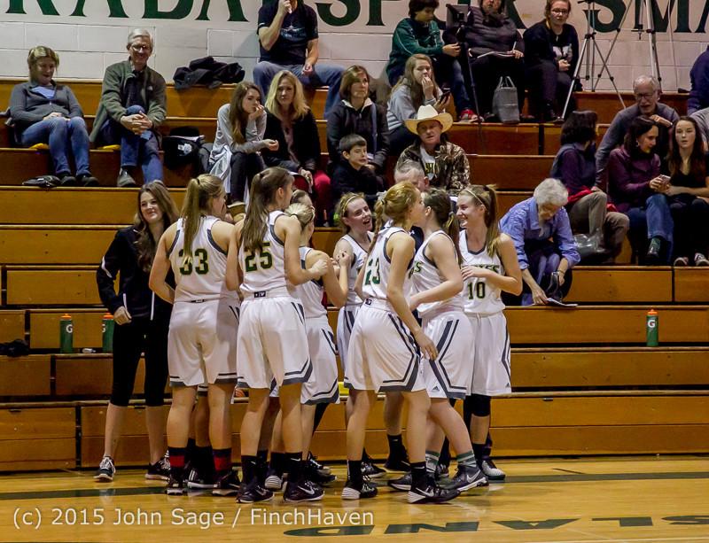 15931 Girls Varsity Basketball v Klahowya 120915