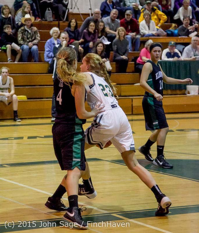 15951 Girls Varsity Basketball v Klahowya 120915