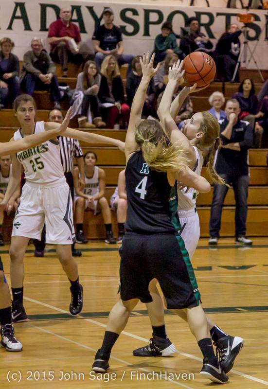 15955 Girls Varsity Basketball v Klahowya 120915