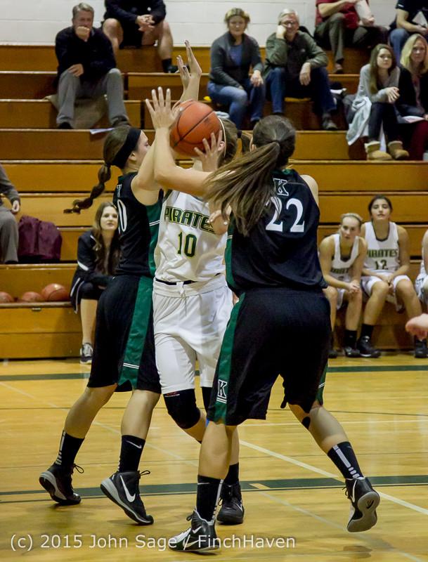 15970 Girls Varsity Basketball v Klahowya 120915