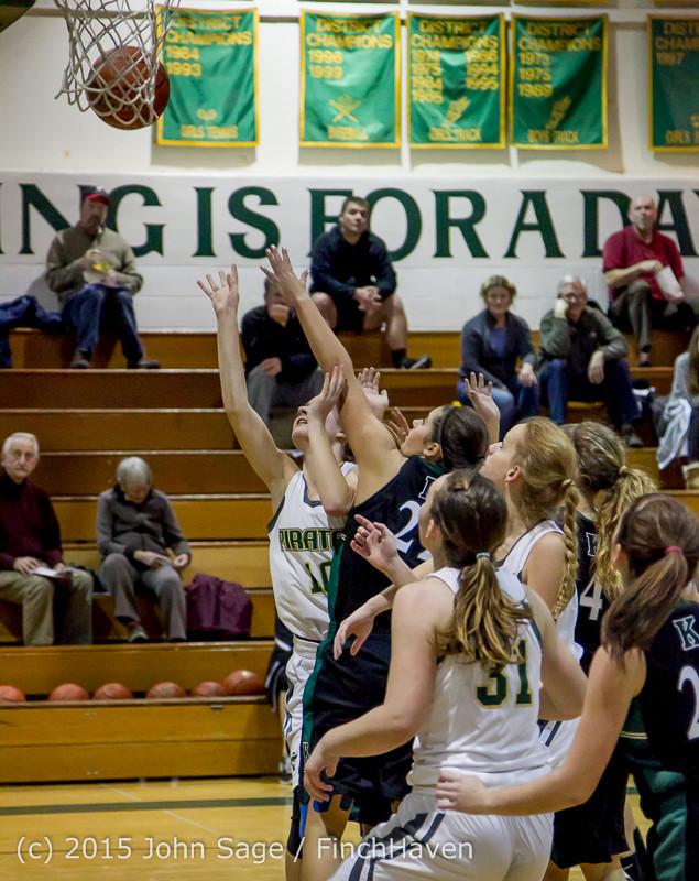 15975 Girls Varsity Basketball v Klahowya 120915