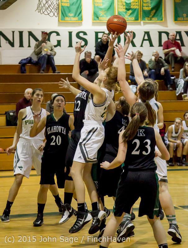 15984 Girls Varsity Basketball v Klahowya 120915