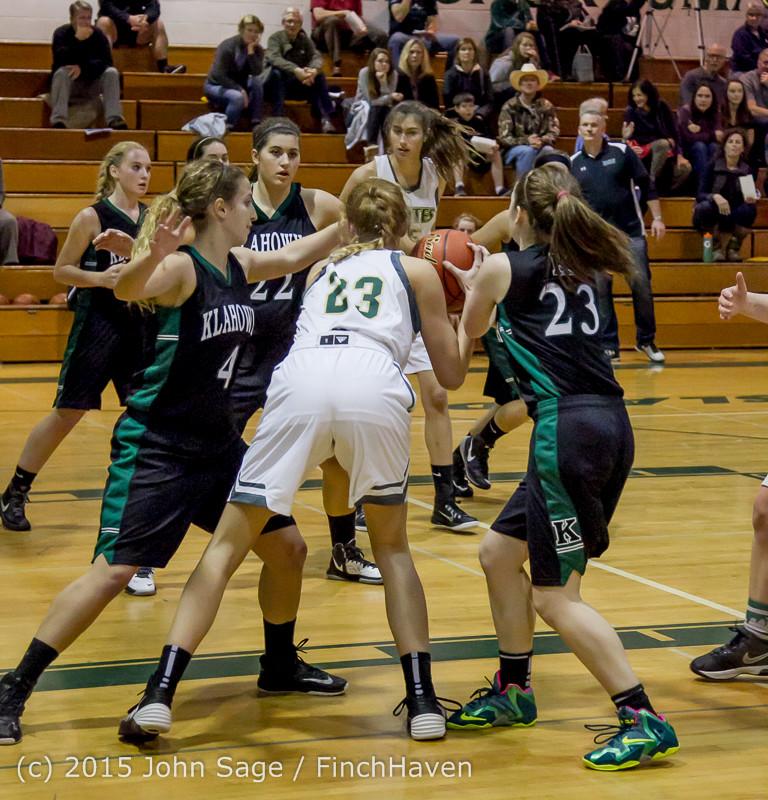 16028 Girls Varsity Basketball v Klahowya 120915