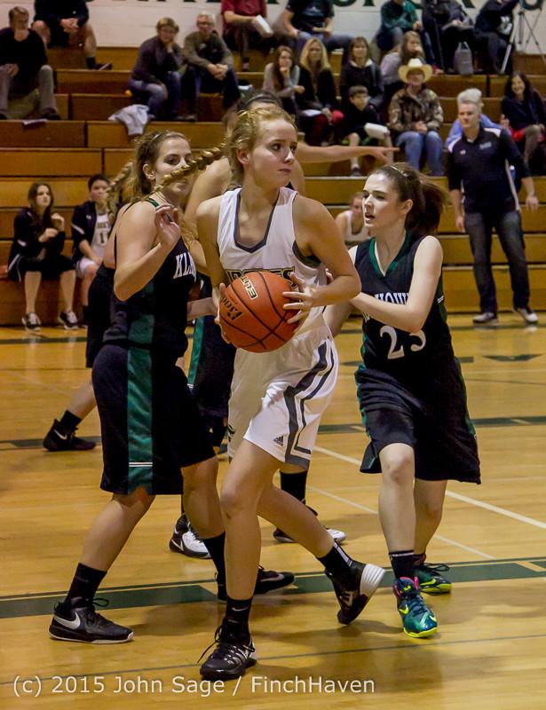 16034 Girls Varsity Basketball v Klahowya 120915
