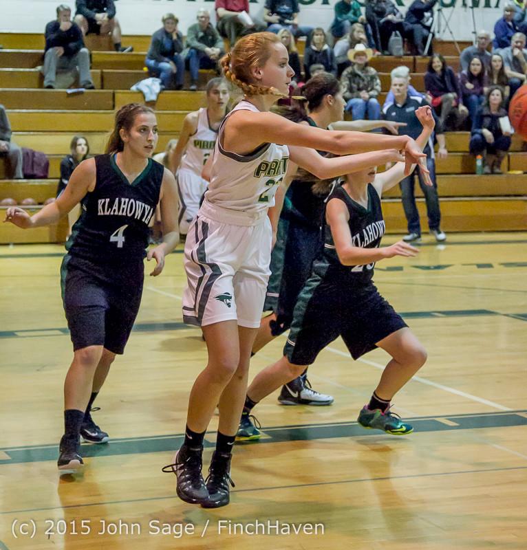 16037 Girls Varsity Basketball v Klahowya 120915