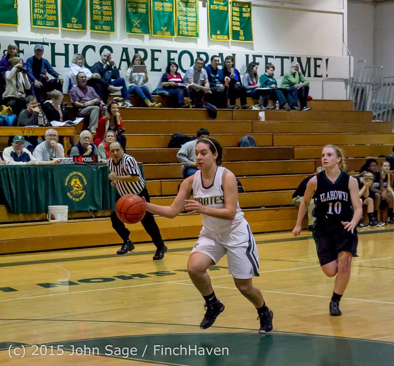 16051 Girls Varsity Basketball v Klahowya 120915