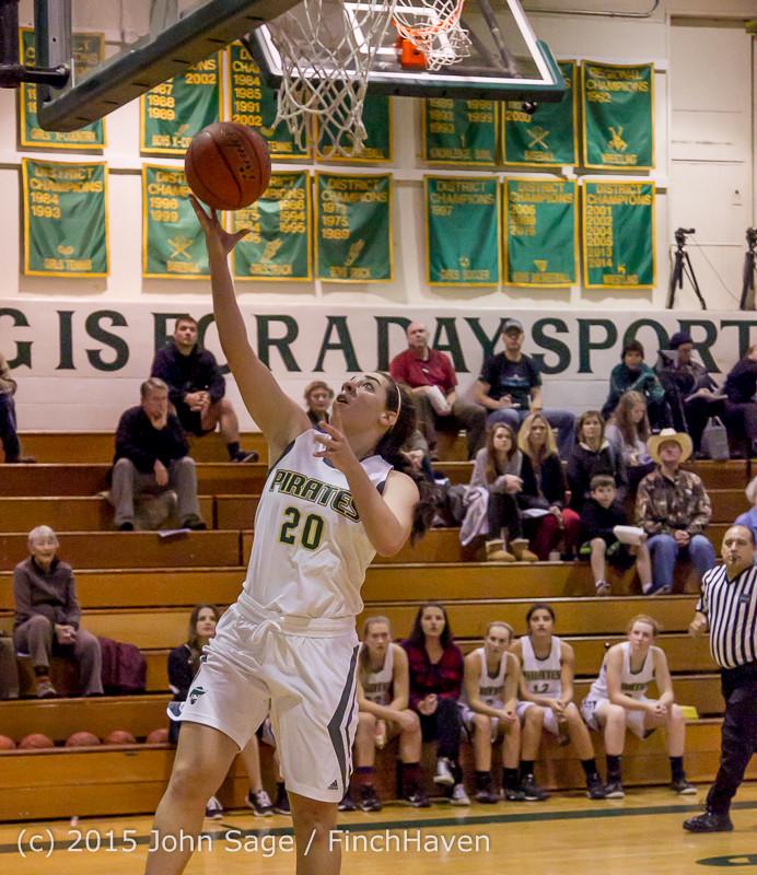 16060 Girls Varsity Basketball v Klahowya 120915