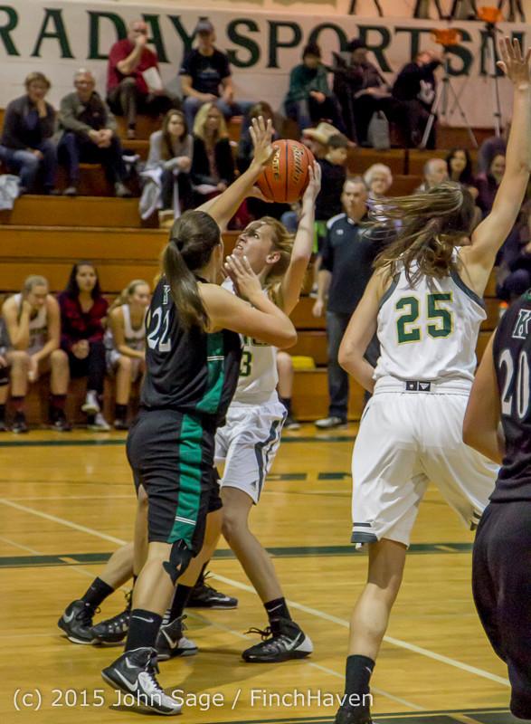 16085 Girls Varsity Basketball v Klahowya 120915