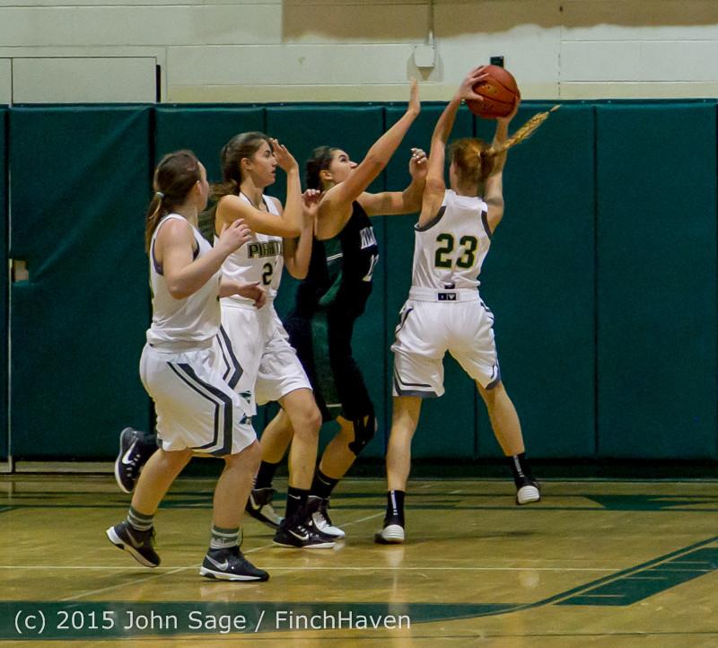 16102 Girls Varsity Basketball v Klahowya 120915
