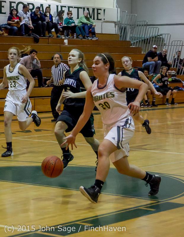 16173 Girls Varsity Basketball v Klahowya 120915