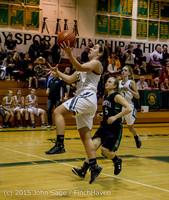 16178 Girls Varsity Basketball v Klahowya 120915