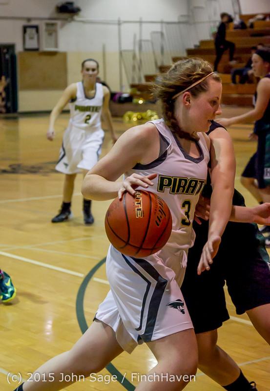 16225 Girls Varsity Basketball v Klahowya 120915