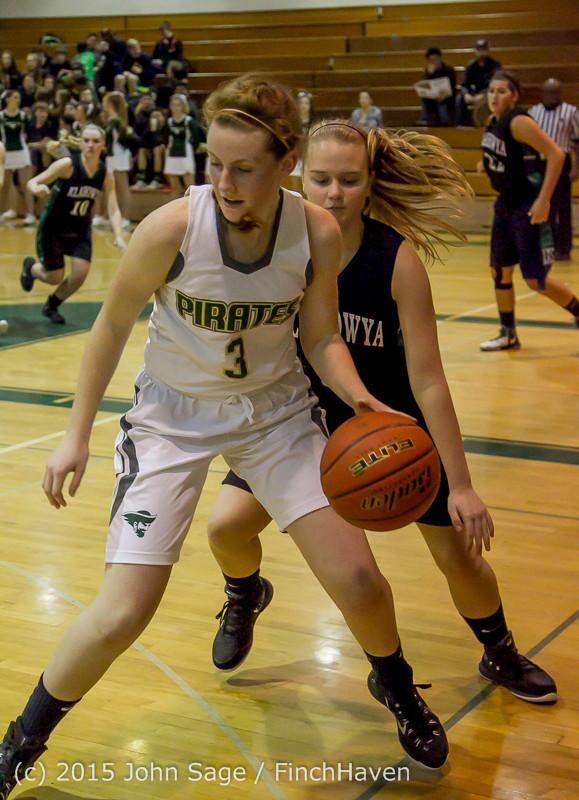 16231 Girls Varsity Basketball v Klahowya 120915