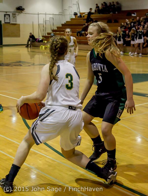 16237 Girls Varsity Basketball v Klahowya 120915