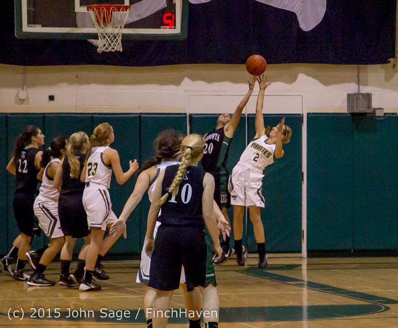 16249 Girls Varsity Basketball v Klahowya 120915
