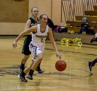 16257 Girls Varsity Basketball v Klahowya 120915