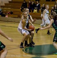 16264 Girls Varsity Basketball v Klahowya 120915