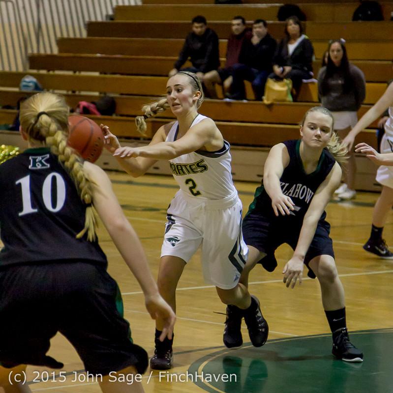 16266 Girls Varsity Basketball v Klahowya 120915