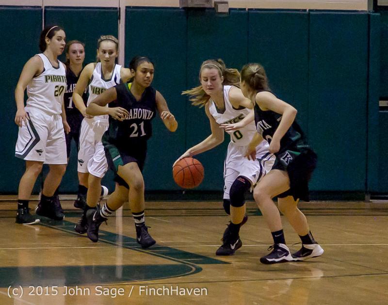 16287 Girls Varsity Basketball v Klahowya 120915