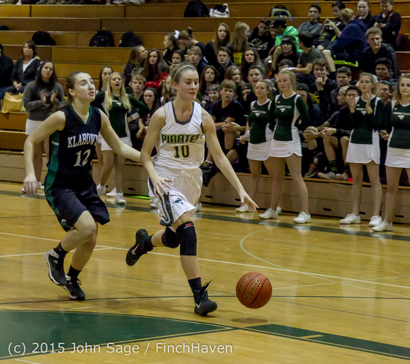 16290 Girls Varsity Basketball v Klahowya 120915