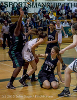 16374 Girls Varsity Basketball v Klahowya 120915
