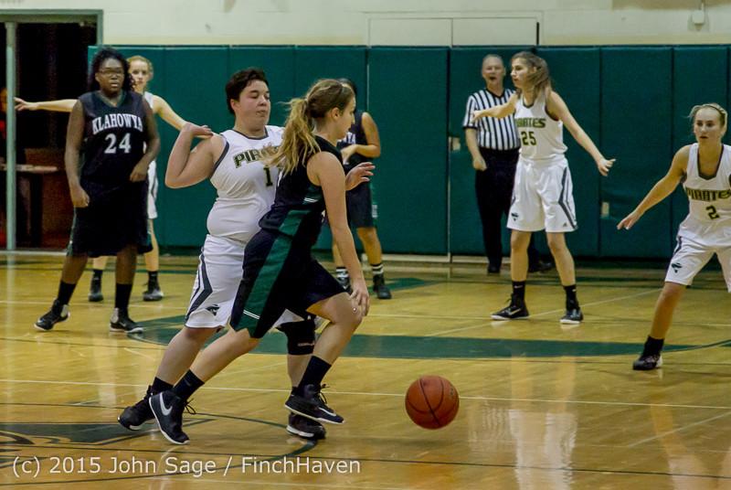 16397 Girls Varsity Basketball v Klahowya 120915