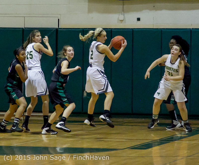 16403 Girls Varsity Basketball v Klahowya 120915