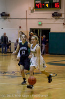 16412 Girls Varsity Basketball v Klahowya 120915