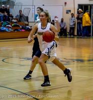 16414 Girls Varsity Basketball v Klahowya 120915