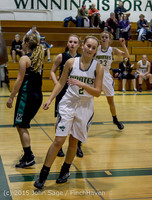 16428 Girls Varsity Basketball v Klahowya 120915