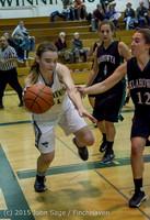 16464 Girls Varsity Basketball v Klahowya 120915