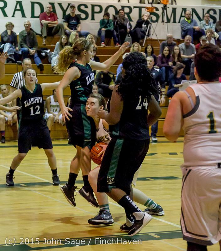16484 Girls Varsity Basketball v Klahowya 120915