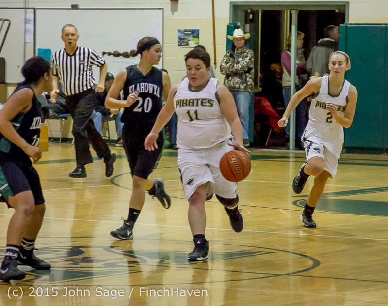16534 Girls Varsity Basketball v Klahowya 120915