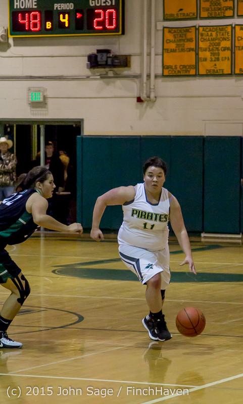 16558 Girls Varsity Basketball v Klahowya 120915