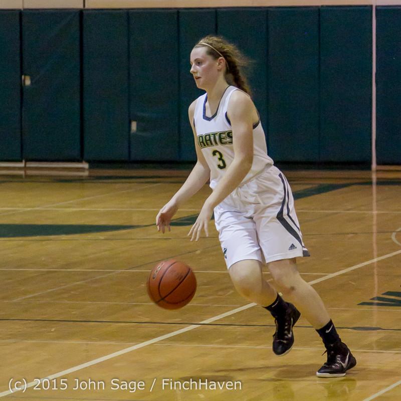 16581 Girls Varsity Basketball v Klahowya 120915
