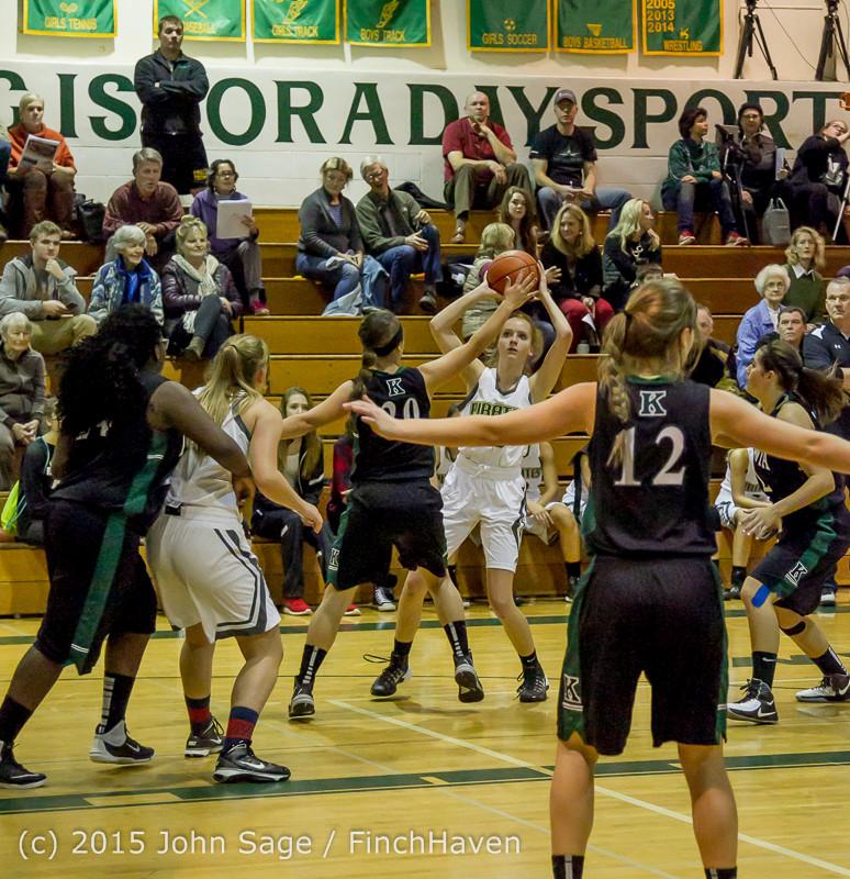 16598 Girls Varsity Basketball v Klahowya 120915