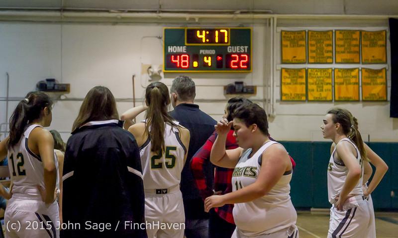 16609 Girls Varsity Basketball v Klahowya 120915