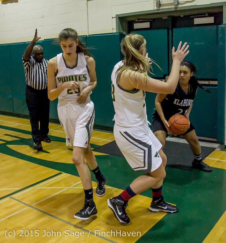 16772 Girls Varsity Basketball v Klahowya 120915